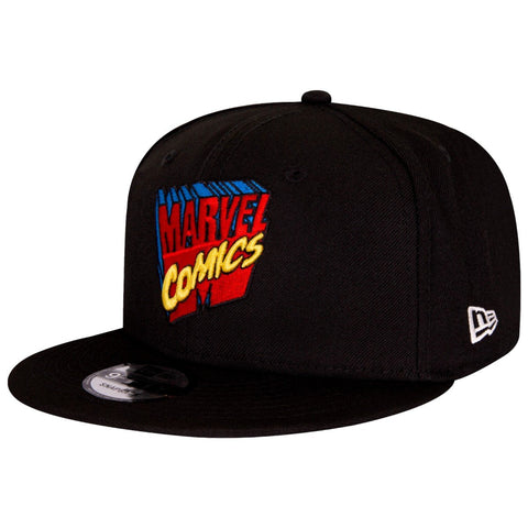 Marvel Comics 80th Anniversary Logo New Era 9Fifty Snapback Cap