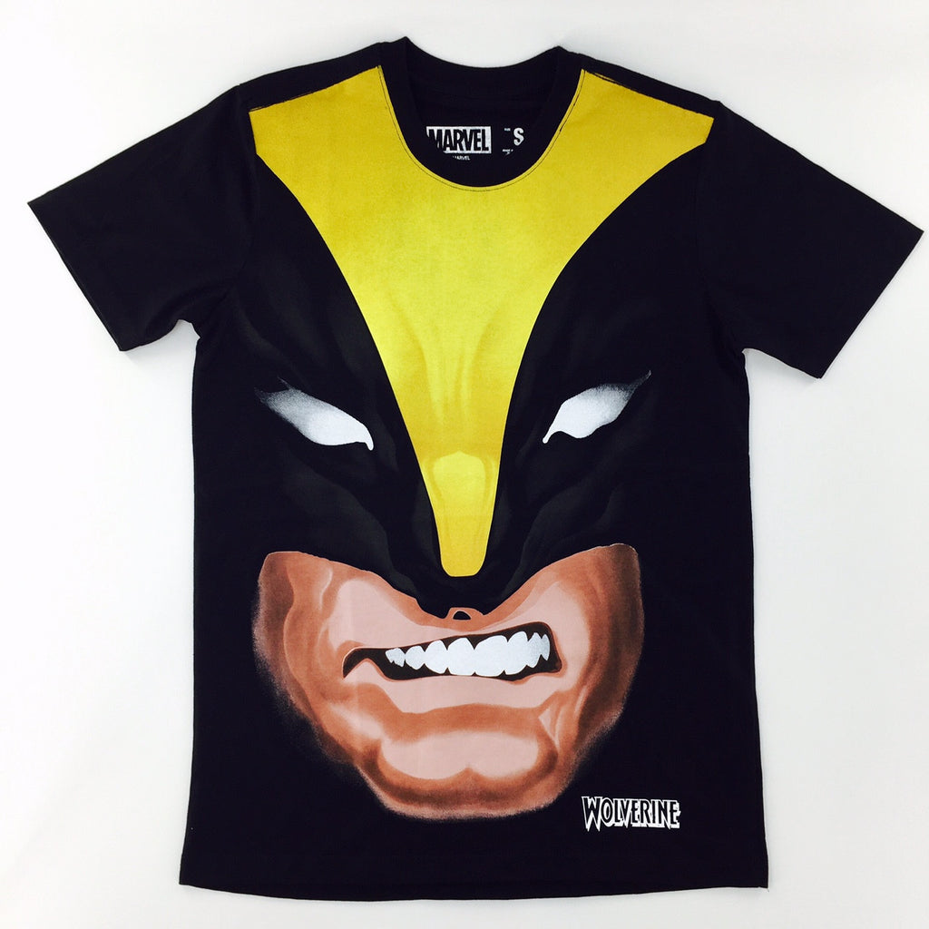Marvel Comics Wolverine Character Face T-Shirt