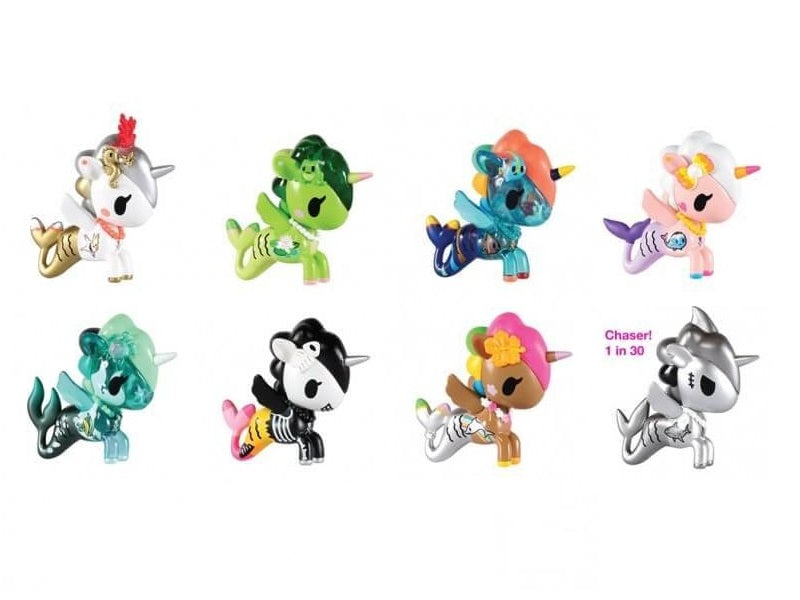 Tokidoki MERMICORNO Series 2 - Complete Set of 8