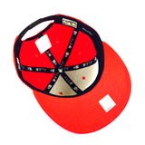 NBA Miami Heat Red New Era 9Fifty Snapback Cap