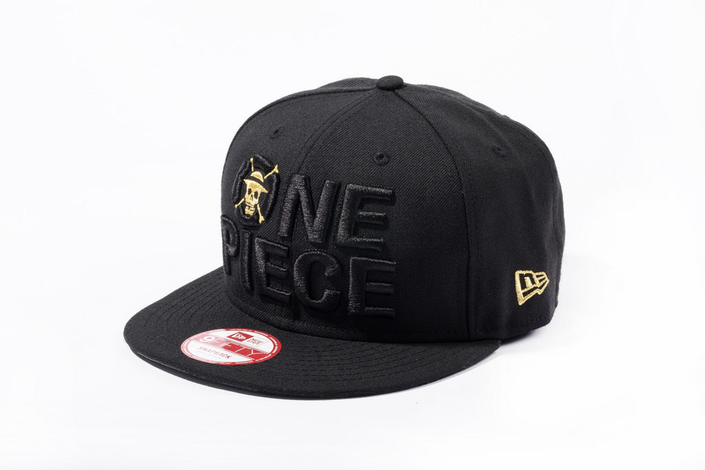One Piece Gold Title New Era 9Fifty Snapback Cap