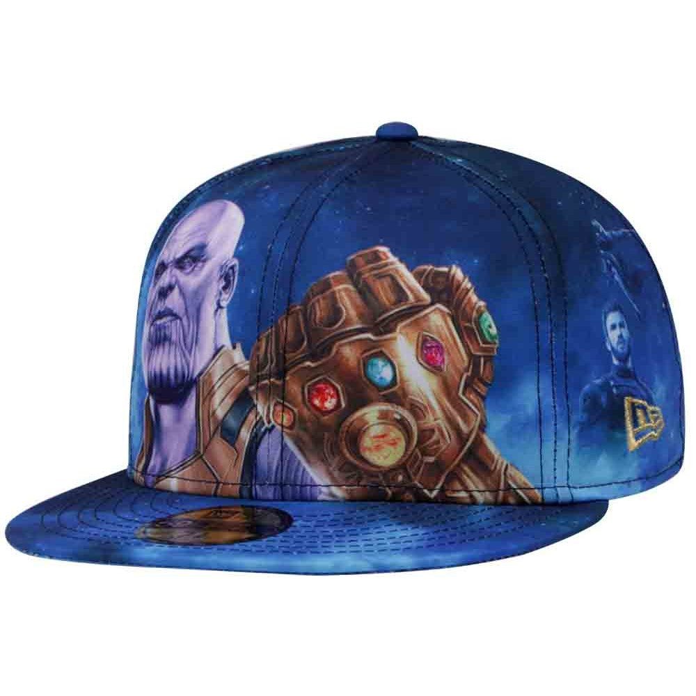5bc93bb3f79 Marvel Avengers Infinity War Thanos All-Over New Era 59Fifty Fitted Ca –  urban TEE