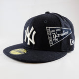 MLB New York Yankees Pennant New Era 59Fifty Fitted Cap