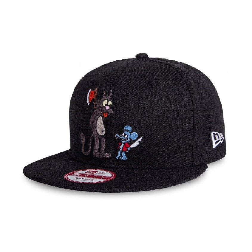 The Simpsons Itchy & Scratchy New Era 9Fifty Snapback Cap