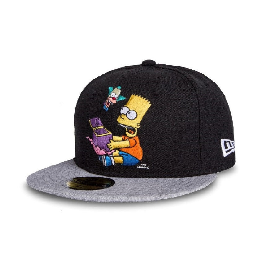 The Simpsons Krusty Toy New Era 59Fifty Fitted Cap