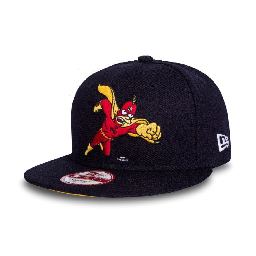 The Simpsons Superhero Radioactive Man New Era 9Fifty Snapback Cap