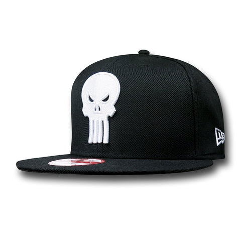 Marvel Punisher Skull Logo New Era 9Fifty Snapback Cap