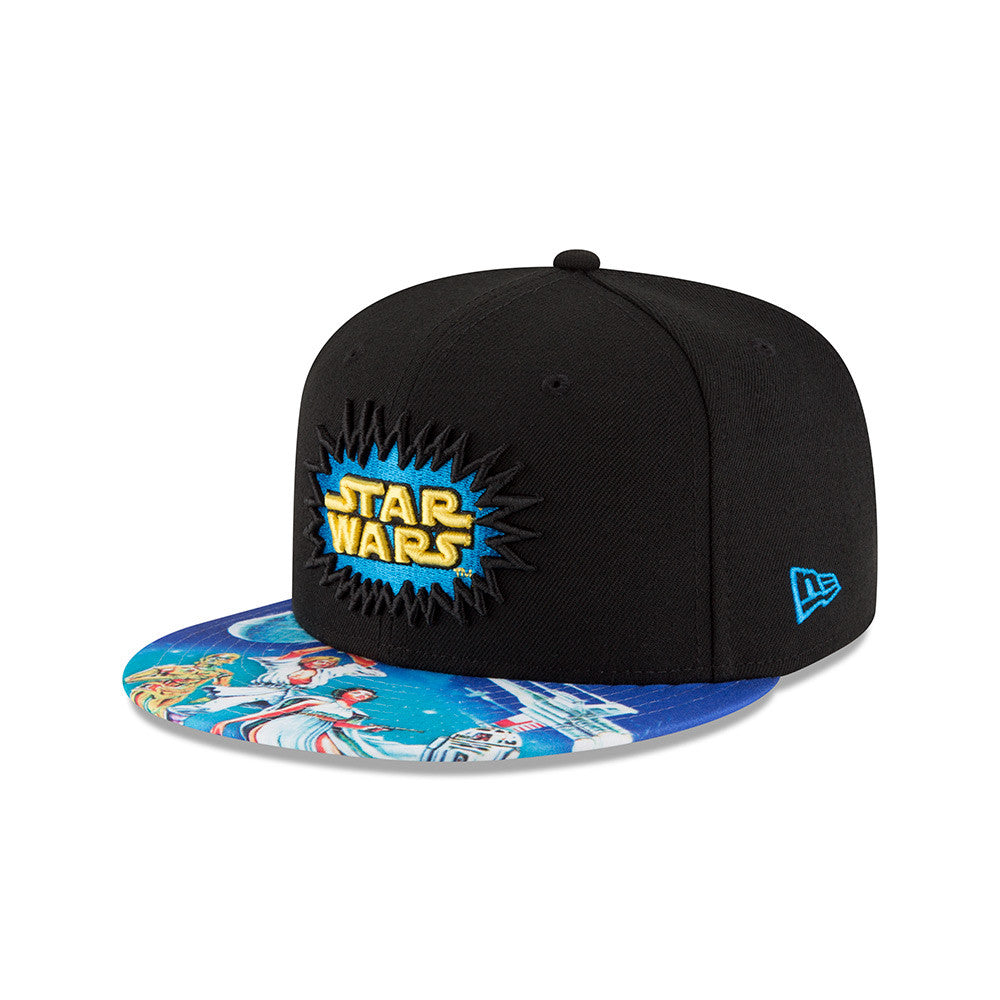 Star Wars 40th Anniversary All-Over Visor 9Fifty Snapback Cap