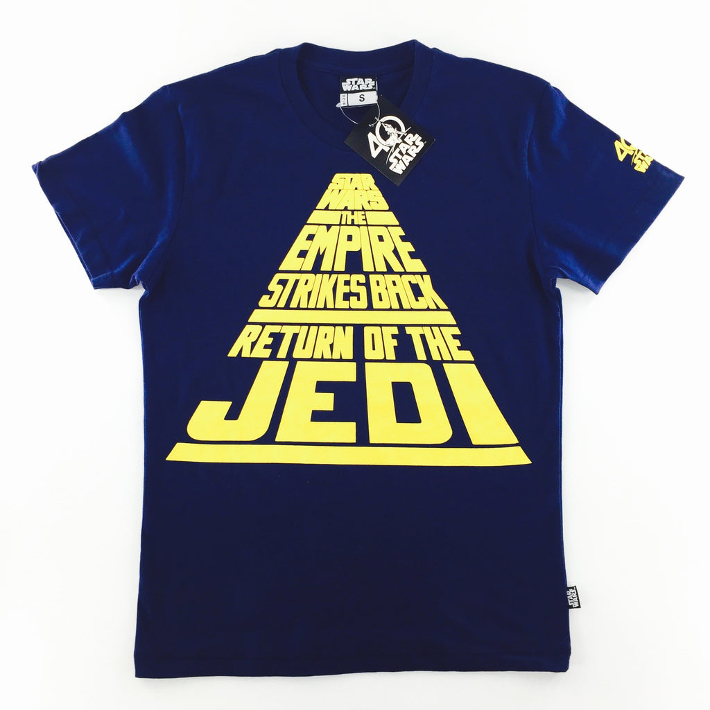 Star Wars 40th Anniversary Titles Scroll T-Shirt