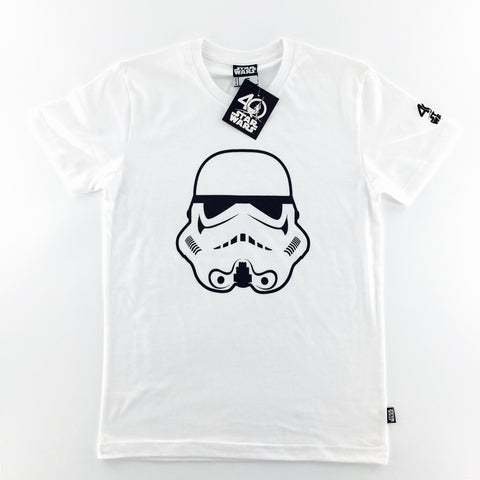 Star Wars 40th Anniversary Stormtrooper Head T-Shirt