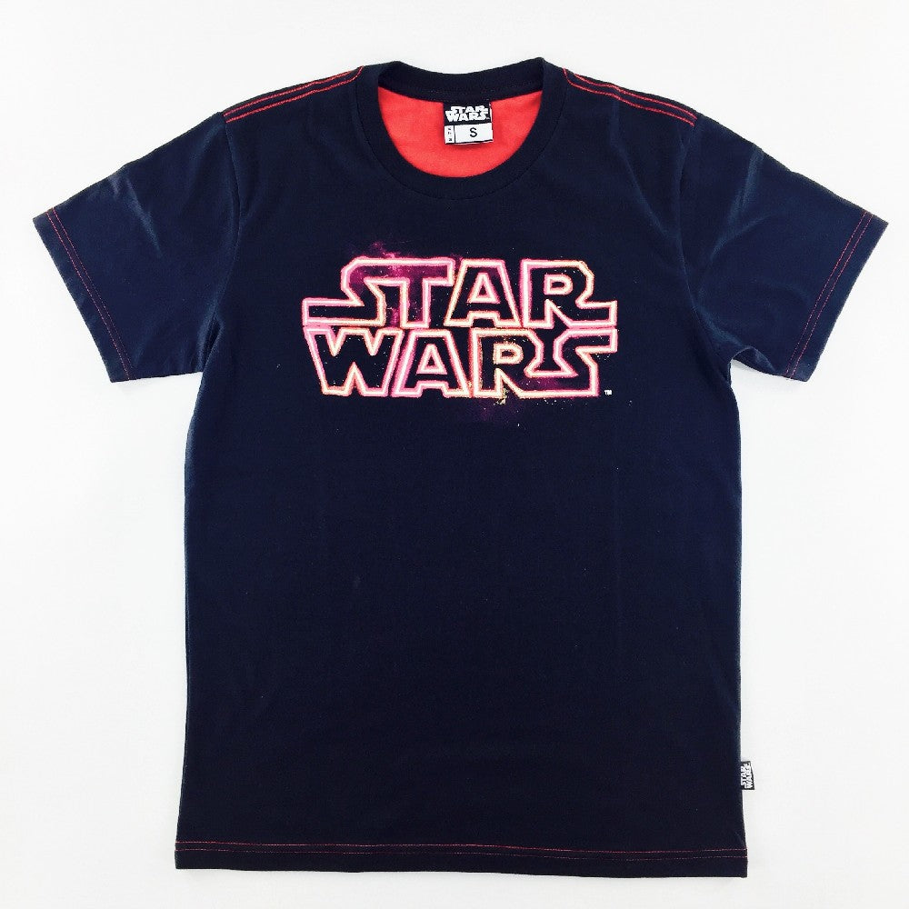 Star Wars Red Lightsaber Logo T-Shirt