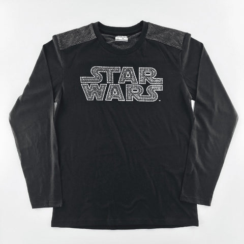 Star Wars 3D Tribal Logo Long Sleeves T-Shirt