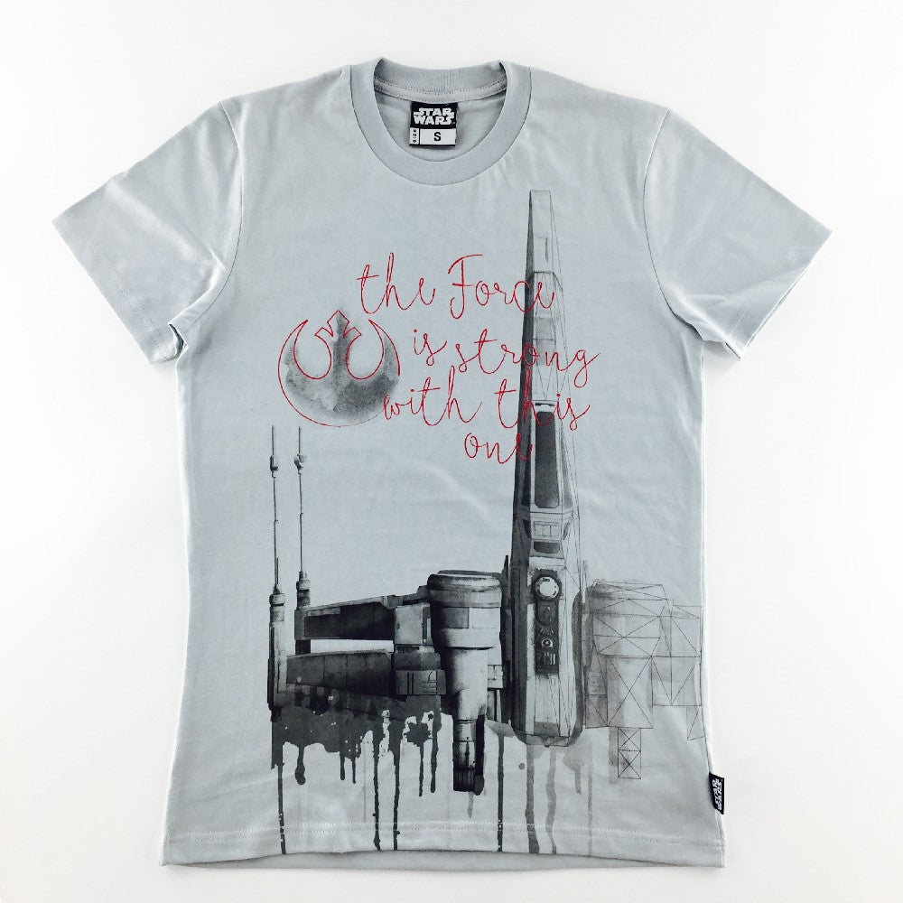 Star Wars X-Wing Watercolor T-Shirt
