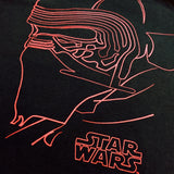 Star Wars The Last Jedi Kylo Ren Outlines T-Shirt