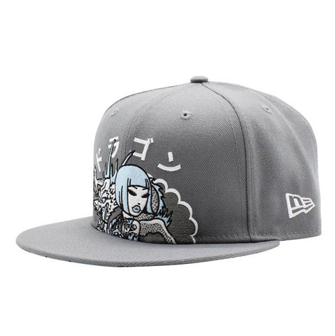 tokidoki Smoking Dragon New Era 9Fifty Snapback Cap