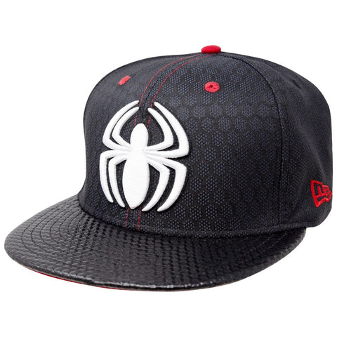 Marvel Spider-Man Stealth Suit Fly Weave Armor New Era 9Fifty Snapback Cap