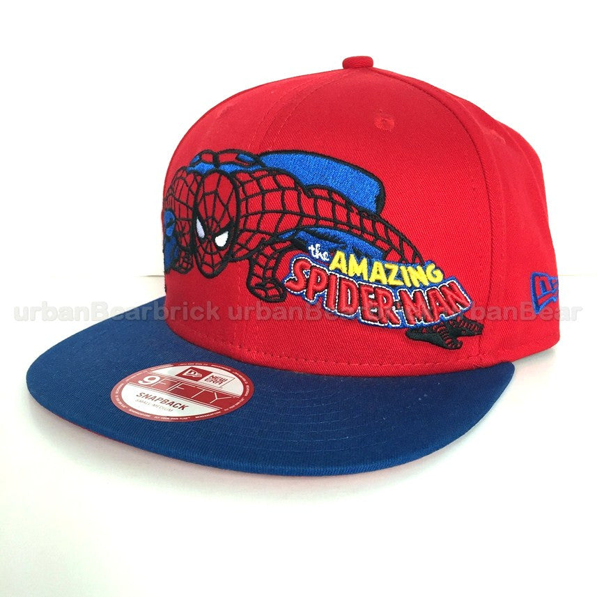 Marvel The Amazing Spider-Man Hero Stance New Era 9Fifty Snapback Cap
