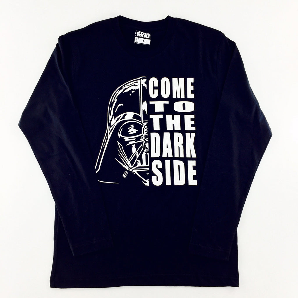 Star Wars Rogue One 3D Emboss Darth Vader Long Sleeves T-Shirt