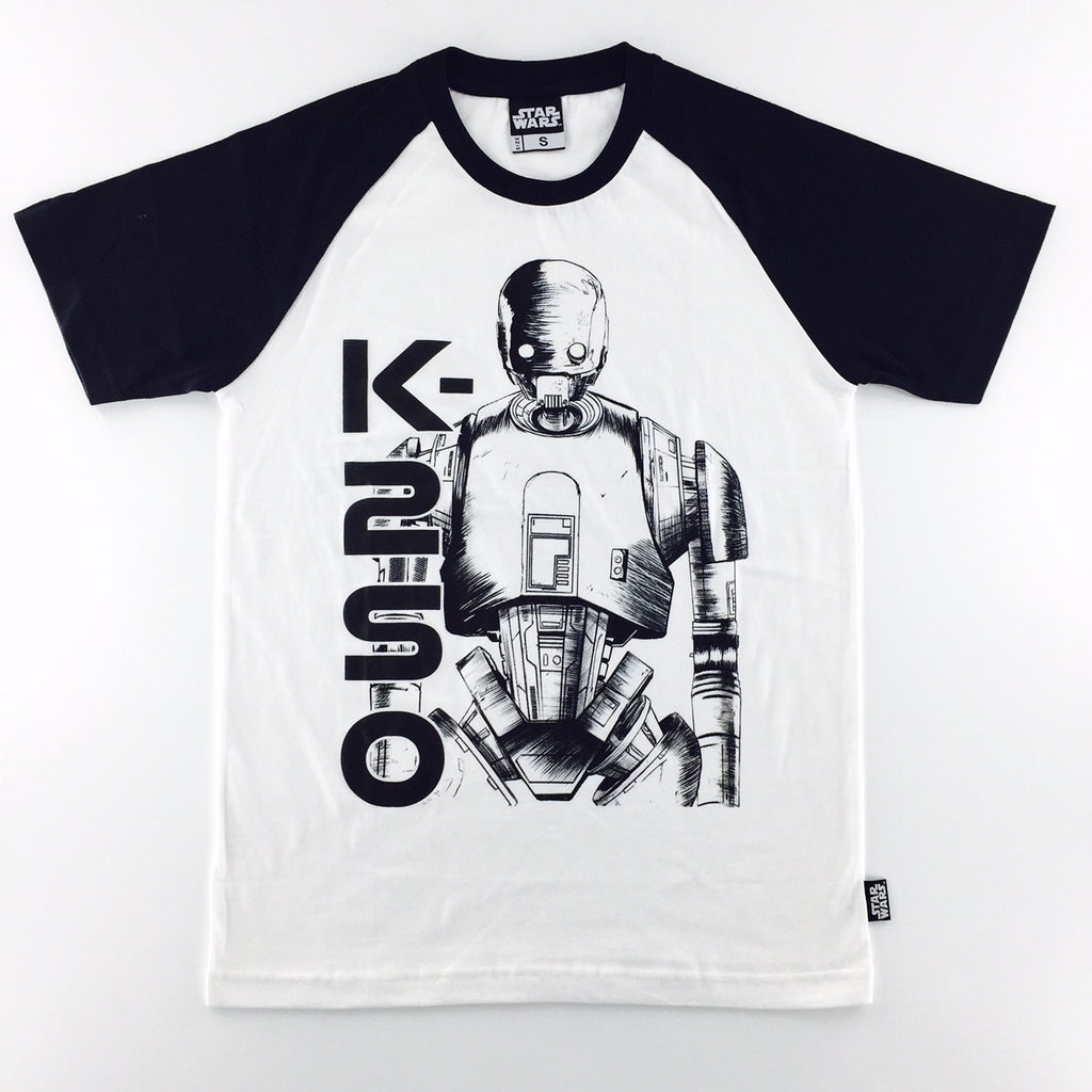 Star Wars Rogue One K-2SO Raglan T-Shirt