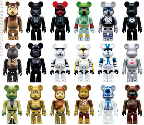 BEARBRICK 70% Star Wars x Pepsi Nex Complete Set of 16