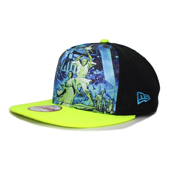 Star Wars Team Stance New Era 9Fifty A-Frame Snapback Cap