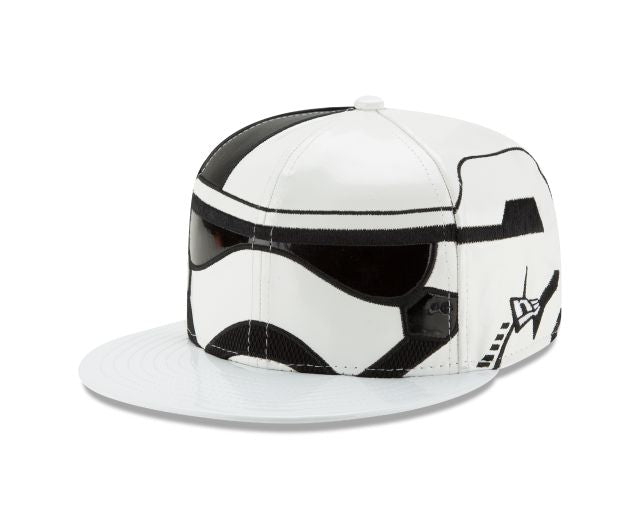 Star Wars The Last Jedi Stormtrooper Executioner Character Face New Era 59Fifty Fitted Cap