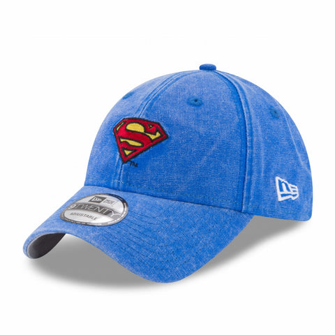 DC Comics Superman Mini Logo New Era 9Twenty Denim Strapback Cap