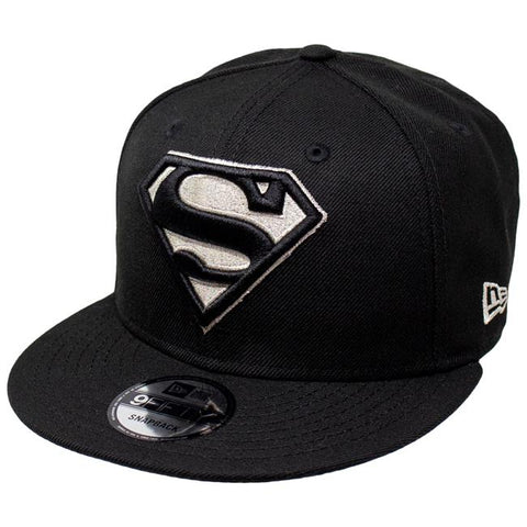 DC Comics Superman Silver Logo New Era 9Fifty Snapback Cap