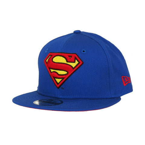 DC Comics Superman Logo Classic Team Snap New Era 9Fifty Snapback Cap