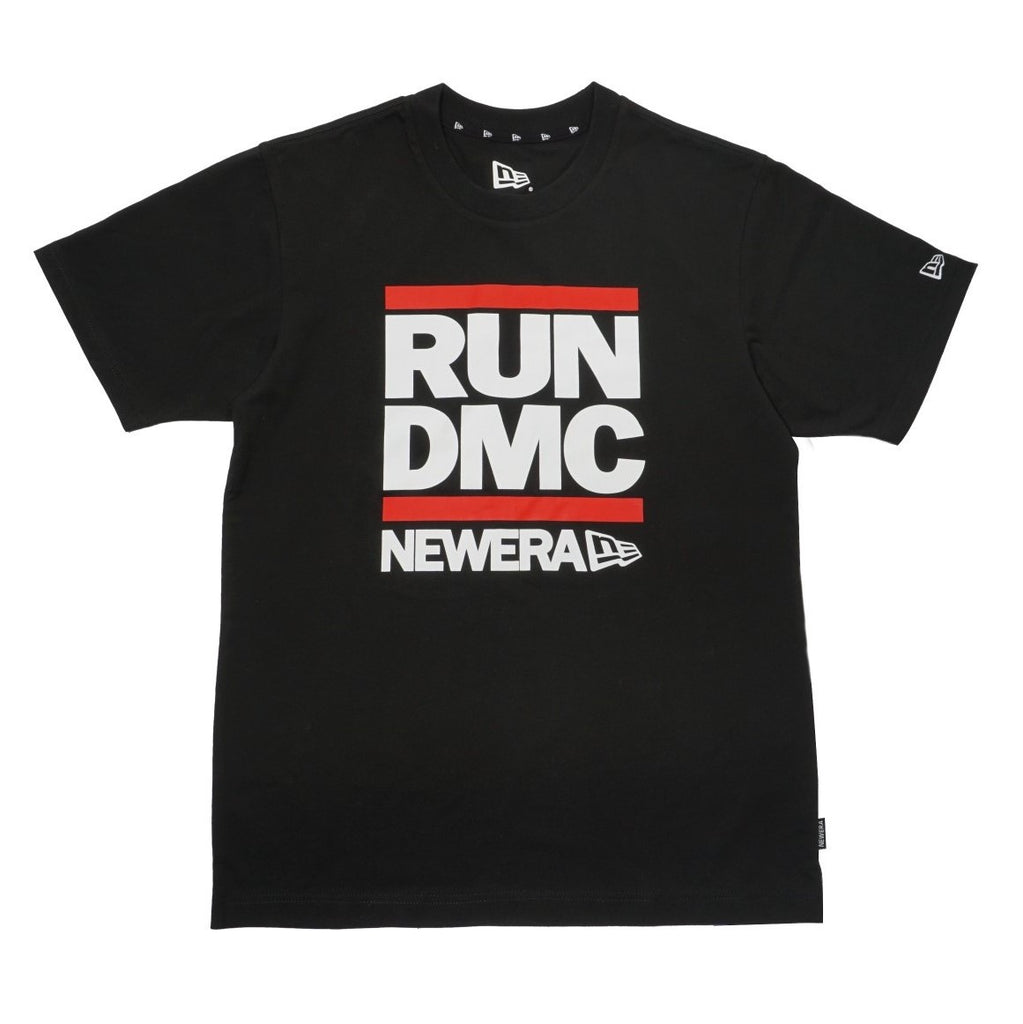 Run DMC Logo New Era Black T-Shirt