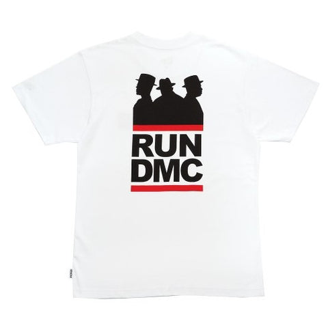 Run DMC Silhouette Logo New Era White T-Shirt