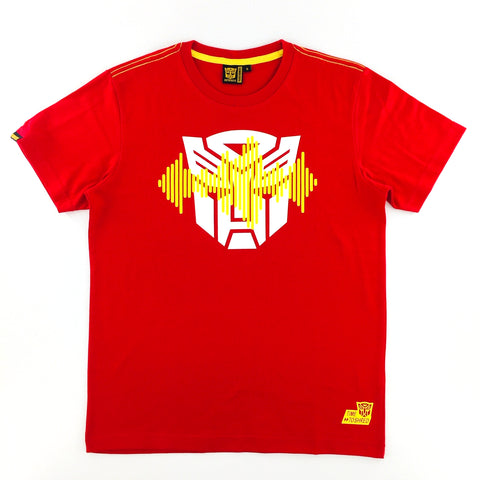 TRANSFORMERS Autobots Logo Frequency Red T-Shirt