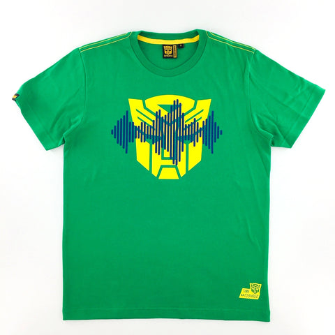 TRANSFORMERS Autobots Logo Frequency Green T-Shirt