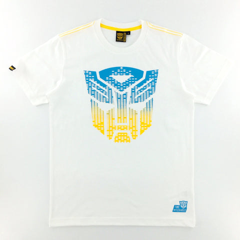 TRANSFORMERS Autobots Equalizer Logo White T-Shirt
