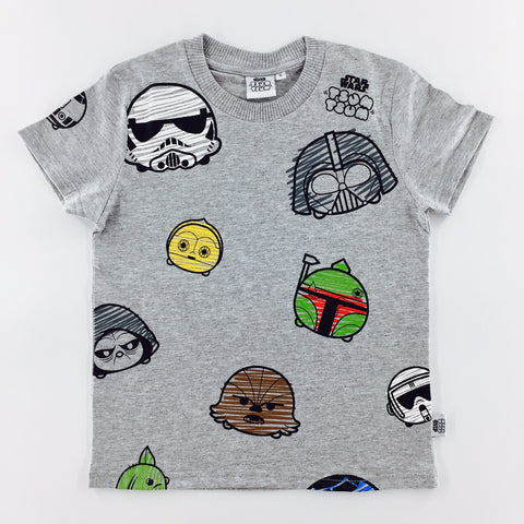 Tsum Tsum Star Wars All-Over Characters T-Shirt (KIDS)