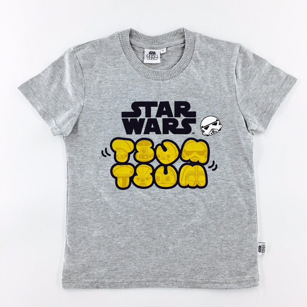 Tsum Tsum Star Wars Logo Mix T-Shirt (KIDS)