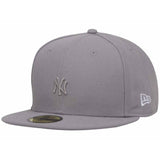 MLB Tonal New York Yankees Gray New Era 59Fifty Fitted Cap