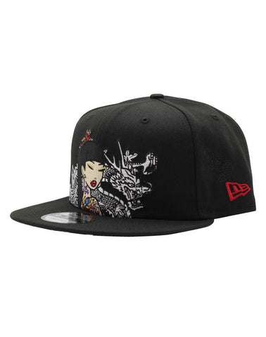 tokidoki White Dragon New Era 9Fifty Snapback Cap