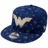 DC Comics Wonder Woman Laser Etch Symbols New Era 9Fifty Snapback Cap