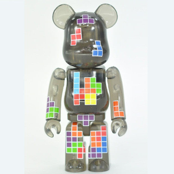 BEARBRICK Series 18 Pattern (Tetris)