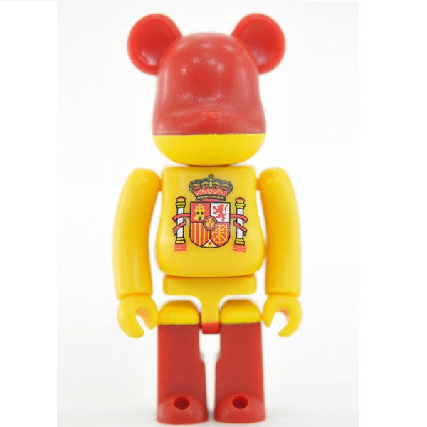 BEARBRICK Series 19 Flag (Spain)