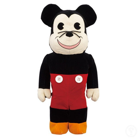 BEARBRICK 400% BWWT 2 Mickey Mouse