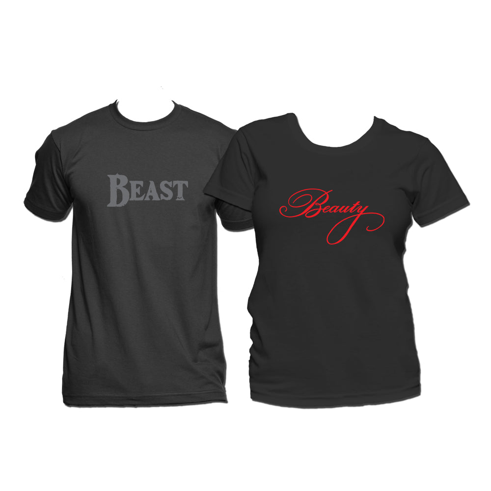 UT Couple T-Shirt - BEAUTY & BEAST