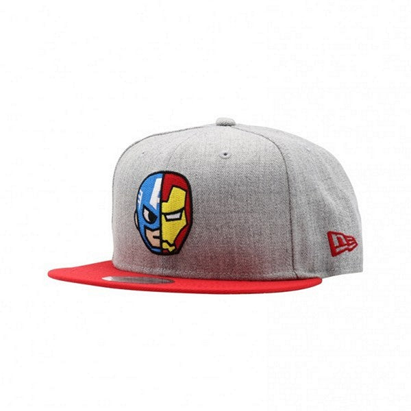 Tokidoki Avengers Cap & Iron Man New Era 9Fifty Snapback Cap
