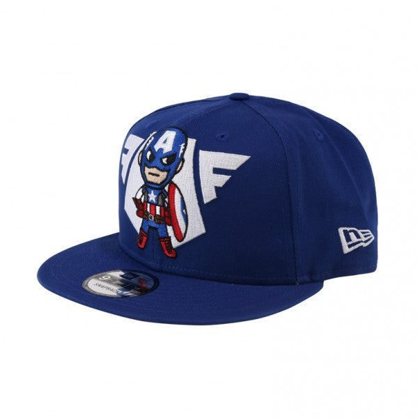 Tokidoki Marvel Captain America Emblem New Era 9Fifty Snapback Cap