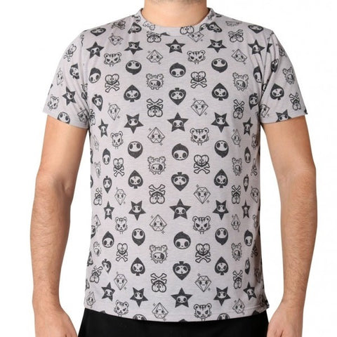 Tokidoki Club Adios All-Over Print T-Shirt