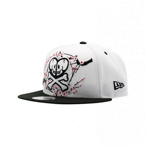 Tokidoki Double Skull Blossom New Era 9Fifty Snapback Cap