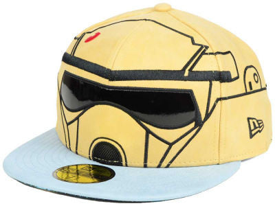 Star Wars Rogue One SHORE TROOPER Character Face New Era 59Fifty Fitted Cap