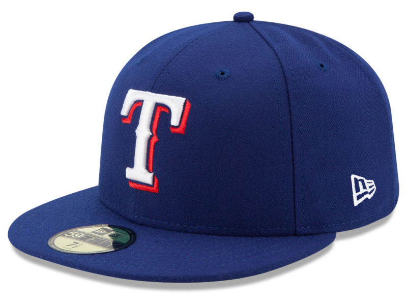 MLB Authentic Collection Texas Rangers New Era 59Fifty Fitted Cap