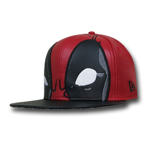 Marvel Deadpool Character Armor New Era 59Fity Fitted Cap